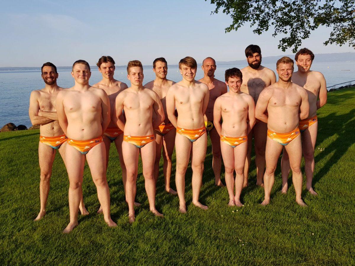 Gruppenbild 2. Mannschaft Wasserball Frauenfeld
