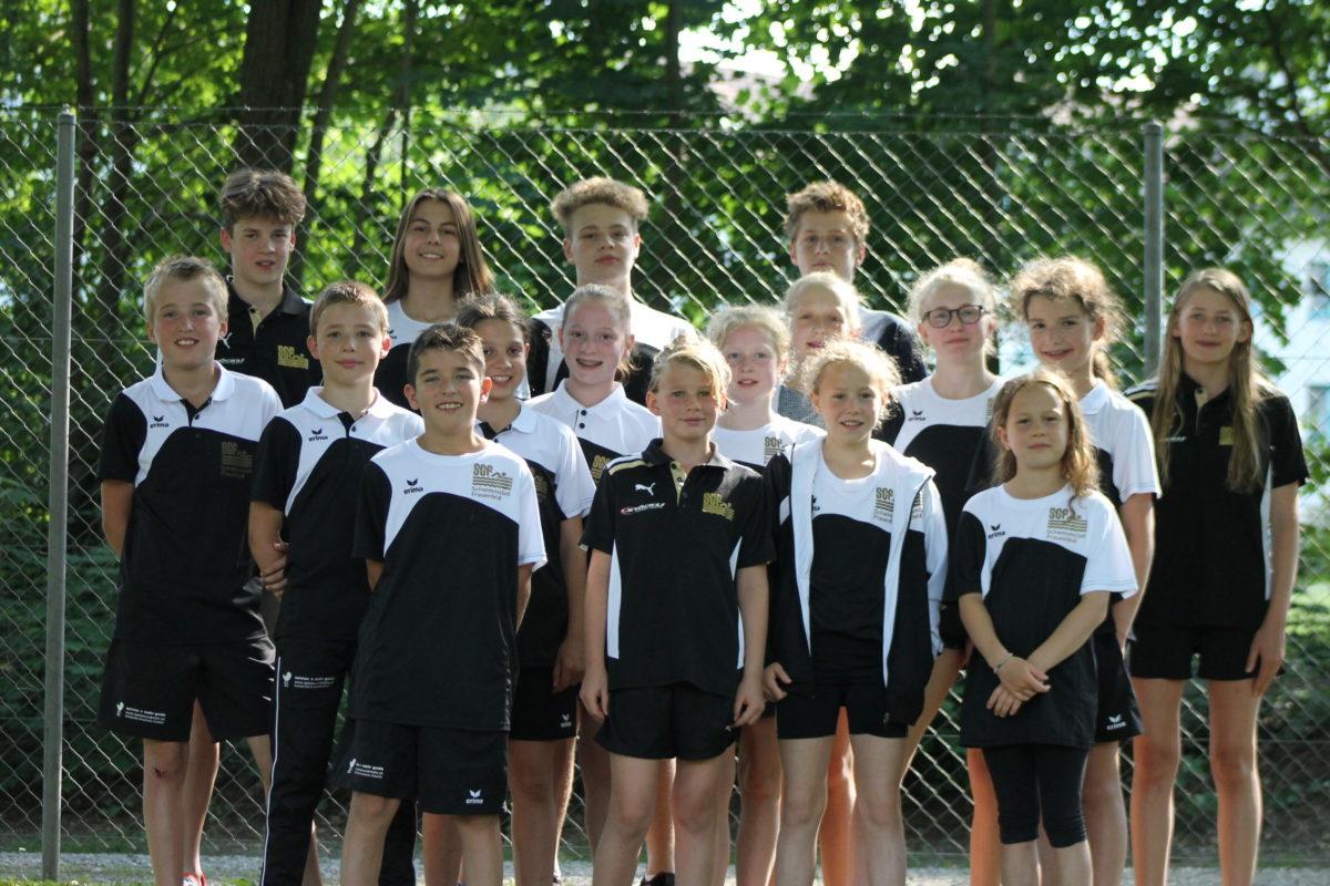 Schwimmgruppe Saison18-19