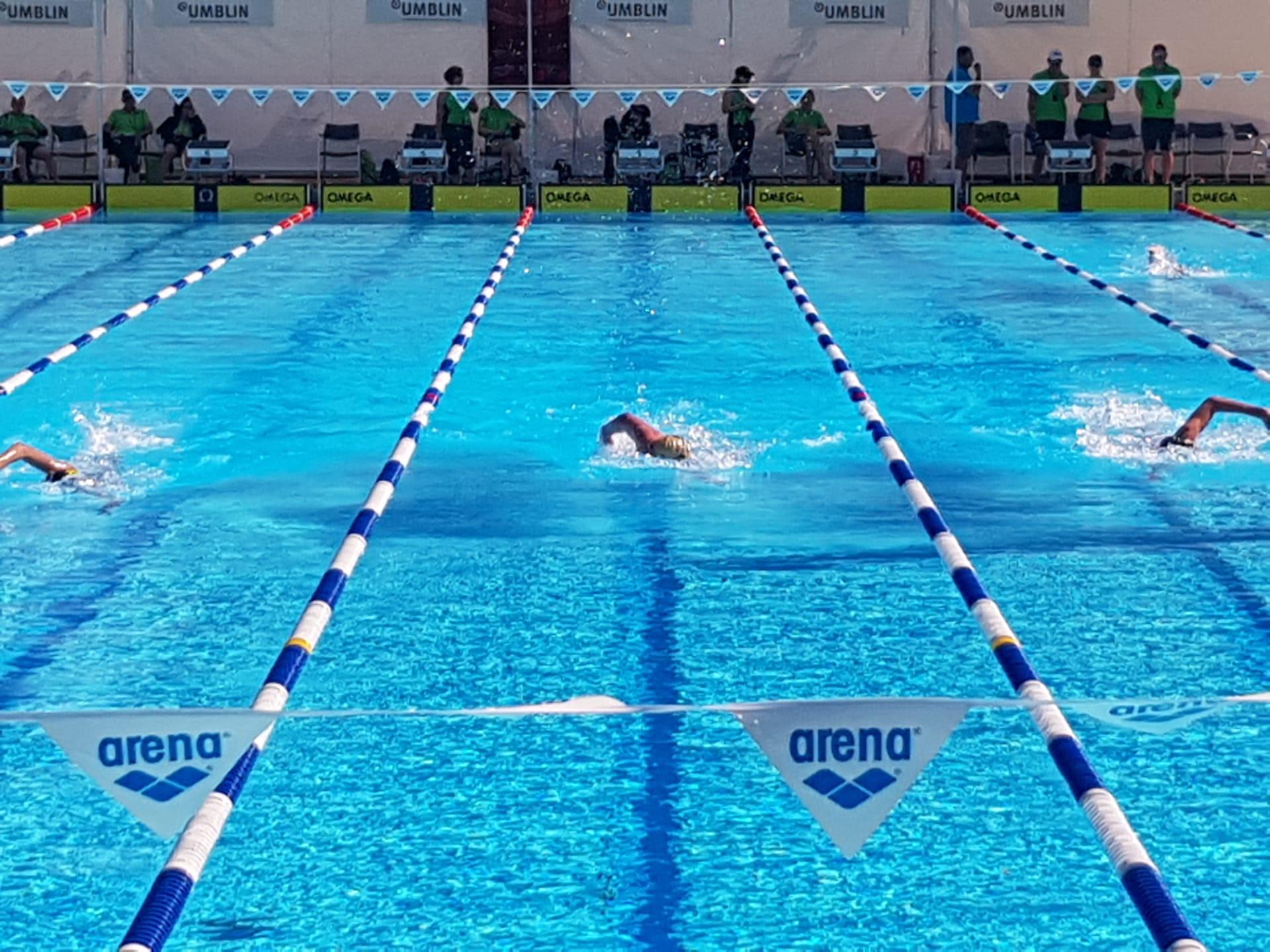 Straffes Programm der SCF-Schwimmer
